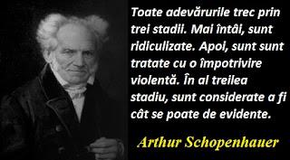 Maxima zilei: 22 februarie - Arthur Schopenhauer