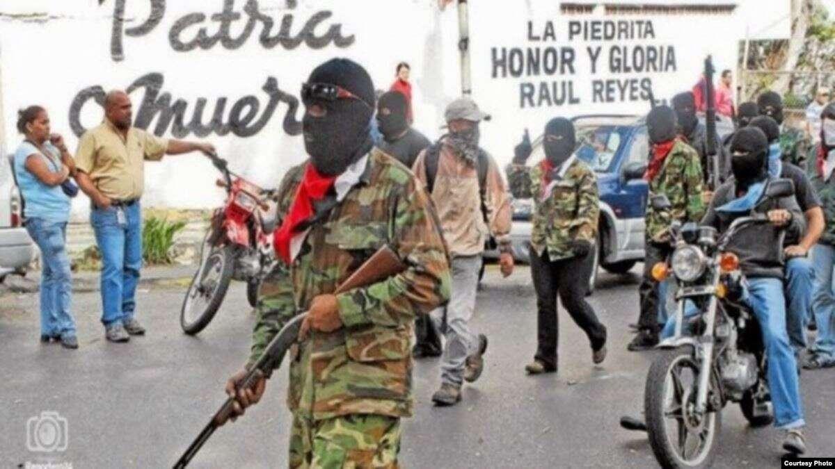 Las llamadas milicias populares son la muestra más violentas en las calles dentro de los regímenes socialistas / CAPTURA RCN