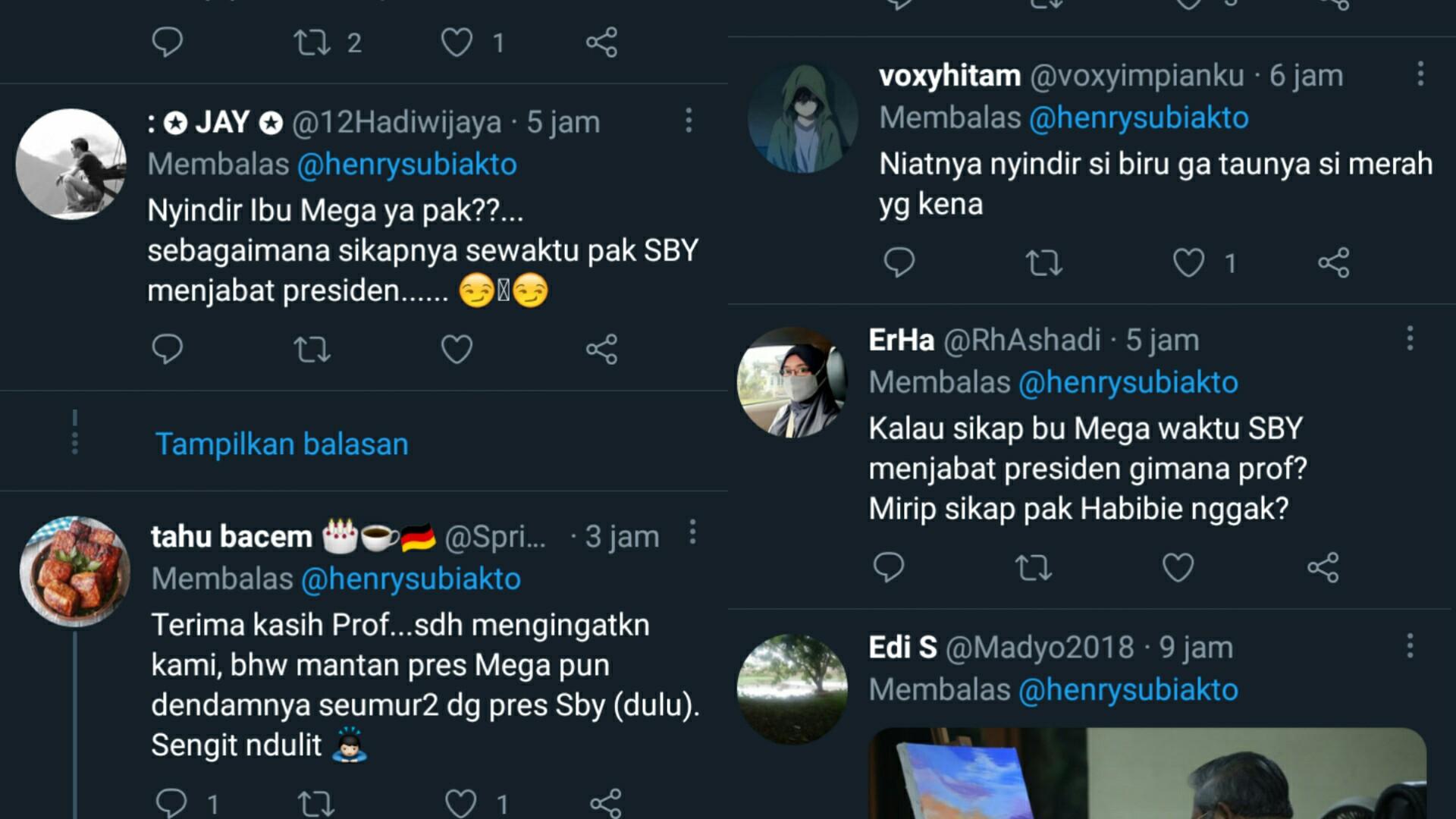 Prof Henry Niat Nyindir 'Si Biru', Eh Gak Tahunya 'Si Merah' Juga Kena