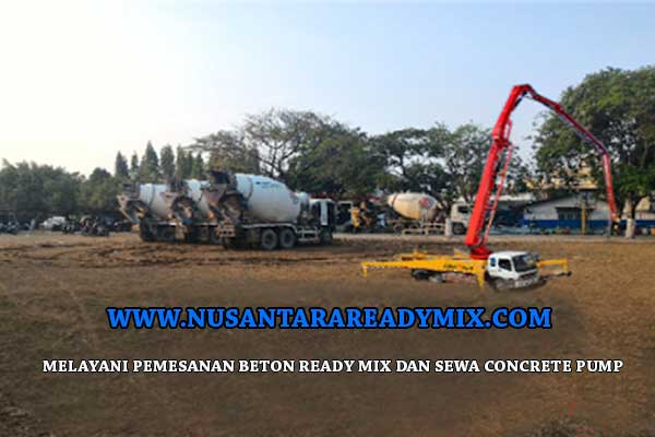 Harga Beton Ready Mix Per M3 2021