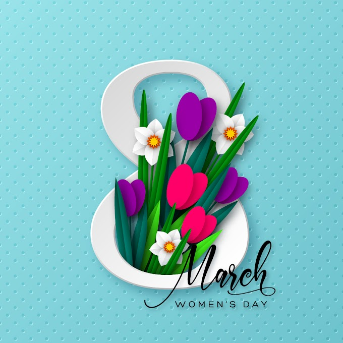 women's day vector - 8 march women day card free vectors
