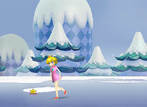 Peach Ice Skating