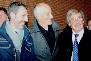 Il Capo della Polizia Pref. Franco GABRIELLI  saluta il Segretario della CONSAP a Roma  Gianluca GUERRISI e  Roberto FRIZZI di ARGOS Associazione Forze di Polizia