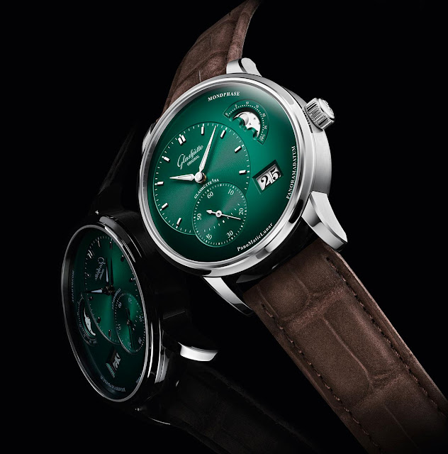Glashütte Original PanoMaticLunar in forest green