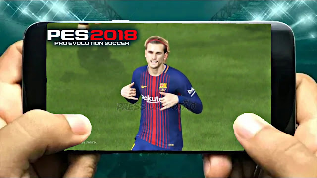 PES 2018 Lite 500Mb Update Graphics HD Android Real Faces