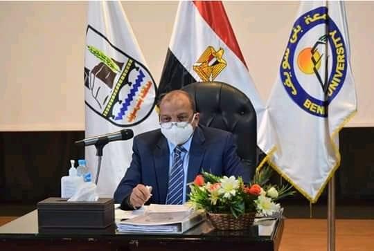 اتفاقية تعاون بين معهد النباتات الطبية والعطرية ومركز نواة للأبحاث العلمية بجامعة بنى سويف