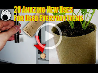 things that can be recycled and reused - Life Hacks, Lifehack Videos, Best out of waste, Waste recycling ideas,  20 Best reuse ideas from Used Everyday Items - Best out of wastes, repurposed items ideas, repurpose household items, Repurposing Everyday Items