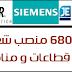 متوفر 680 منصب شغل في عدة قطاعات و مناصب