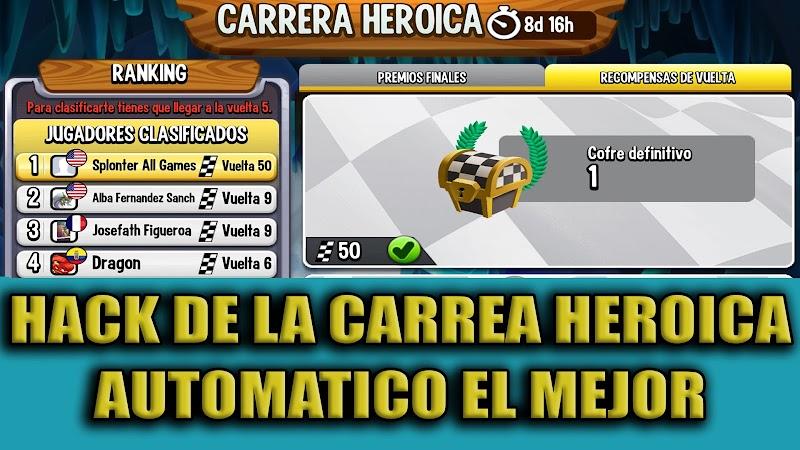HACK AUTOMATICO LA CARRERA HEROICA 2020