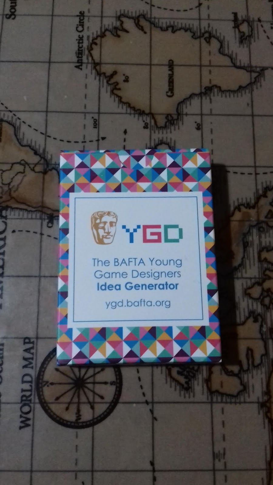 BAFTA Young Game Designers competition!