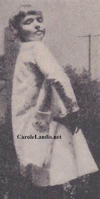 Carole Landis Age Eight