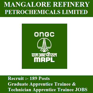 Mangalore Refinery and Petrochemicals Limited, MRPL, freejobalert, Sarkari Naukri, Latest Jobs, Karnataka, Apprentice Trainee, Graduation, mrpl logo