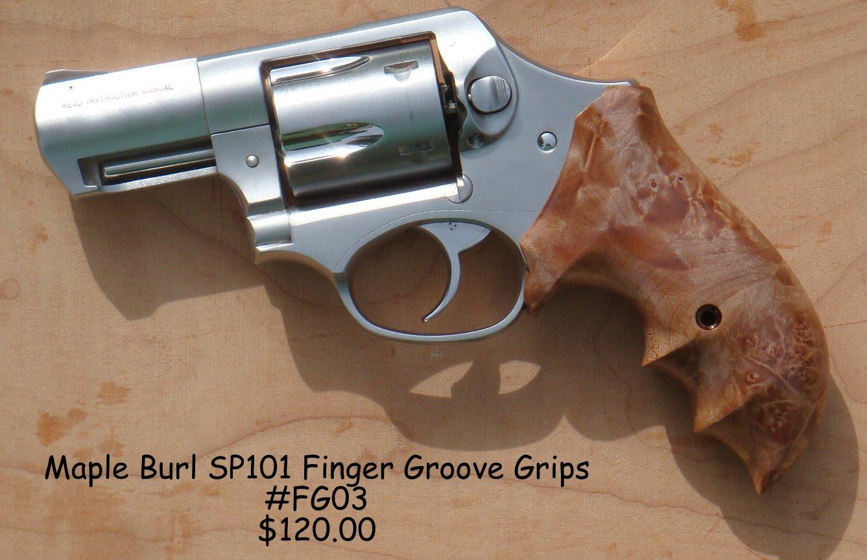Tim S Workshop Ruger Sp101 Finger Groove Grips For Sale