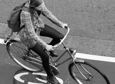 fiets met terugtraprem