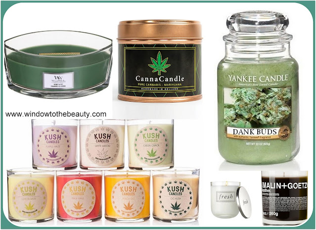 cannabis candles