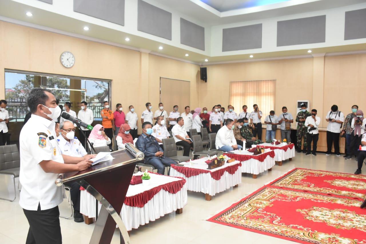 DPRD Kabupaten Sergai Menggelar Rapat Paripurna Penyampaian Nota Kesepakatan Bersama Substansi Ranwal  RPJMD 2021 -2026