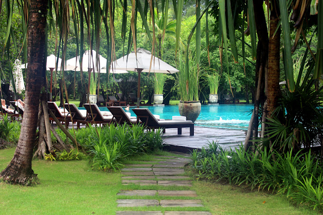 The Sarojin Resort, luxury five star hotel in Khao Lak, Phang Nga, Thailand