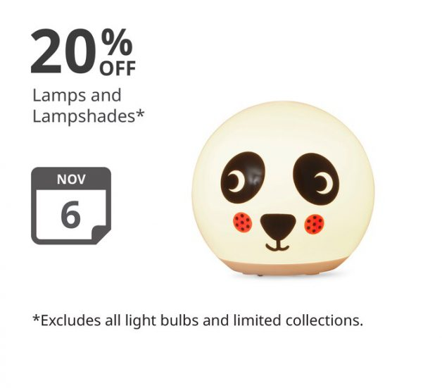 Picture of Panda Lamp