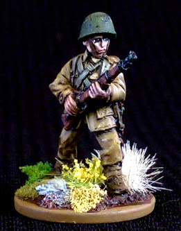 World War 2 Polish Soldier Miniature