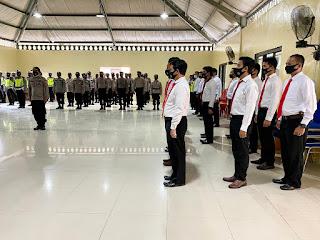 Kapolres Luwu Utara AKBP Irwan Sunuddin Pimpin Apel Perdana, Ini Arahannya..?