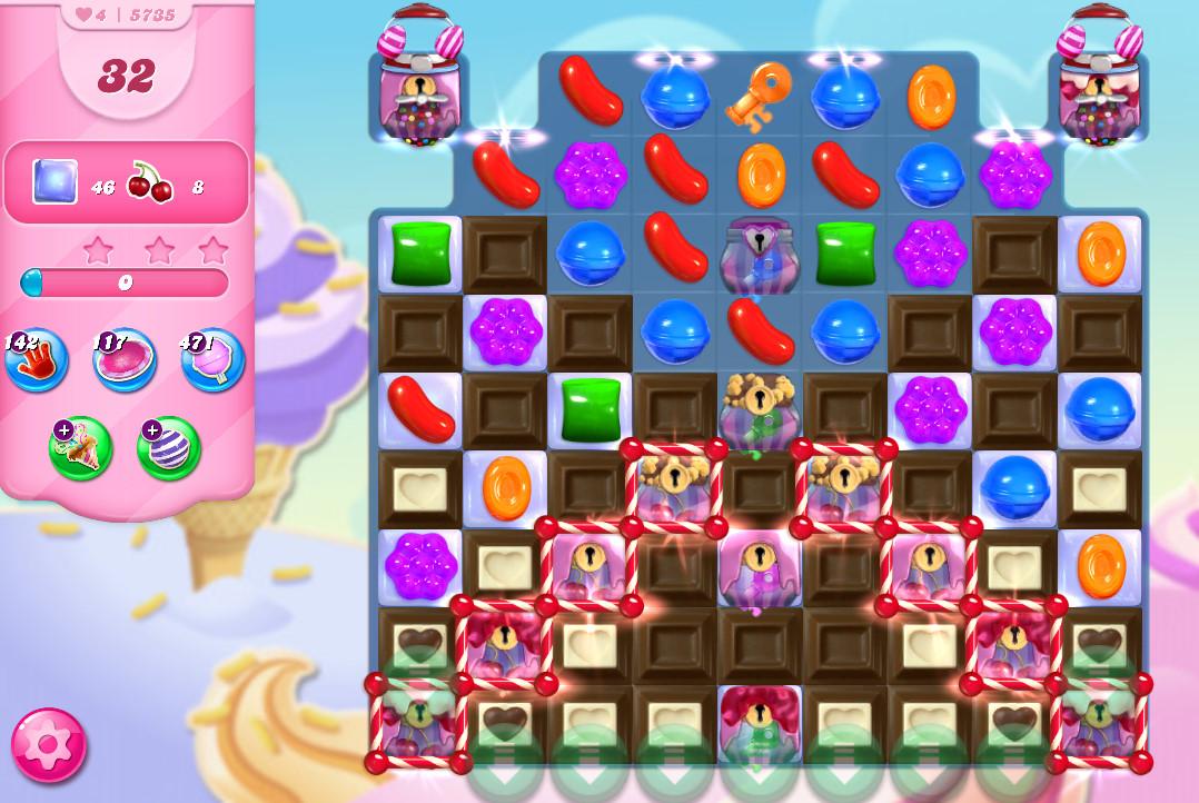 Candy Crush Saga level 5735
