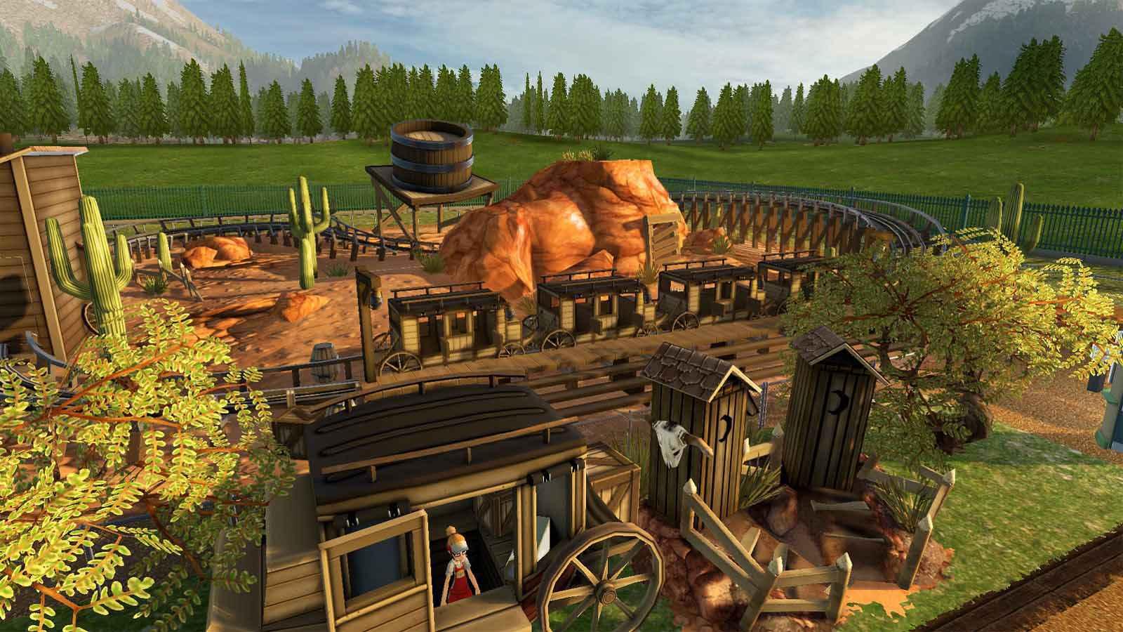 تحميل لعبة RollerCoaster Tycoon World مضغوطة برابط واحد مباشر + تورنت كاملة مجانا