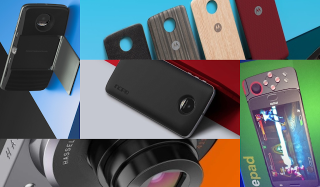 List of Official Moto Mods for the Moto Z