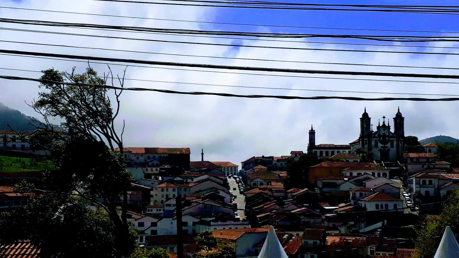 Vista para a cidade de Ouro Preto a partir da Igreja de São José