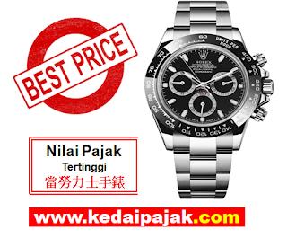Pajak Rolex (Rolex Submariner Dipajak Dengan RM70,000) - kedaipajak