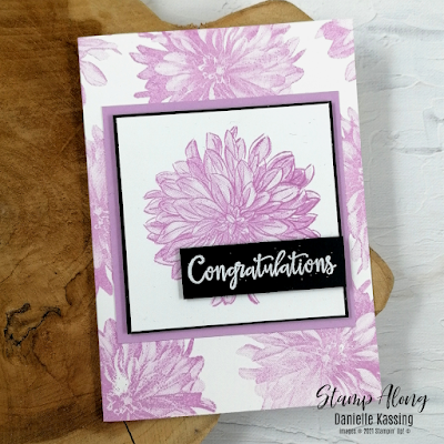 Stampin' Up! Delicate Dahlia's