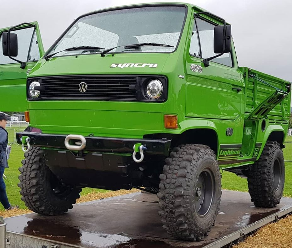 Just A Car Guy: Mike Ghia's T3 Syncro Lightweight SWB, 9