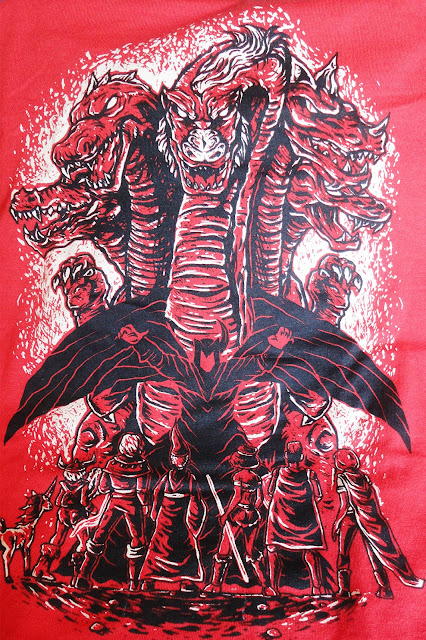 Camiseta Dungeons and Dragons