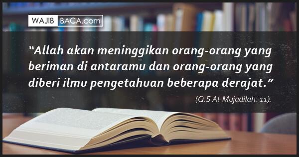 Amalkan Doa Sesudah Belajar ini agar Apa yang Dipelajari Dapat Dengan Mudah Dipahami