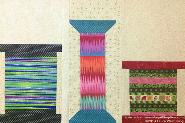 Spool Quilt Block Tutorial
