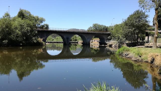 Ponte Romana sobre o Rio Ave nas Taipas