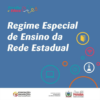 Começa nesta segunda o Regime Especial de Ensino na rede estadual da Paraíba