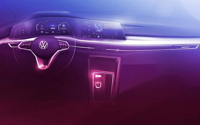 Novo VW Golf (mk8) 2020