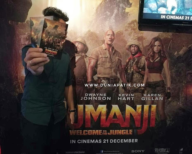 FILEM JUMANJI: WELCOME TO THE JUNGLE