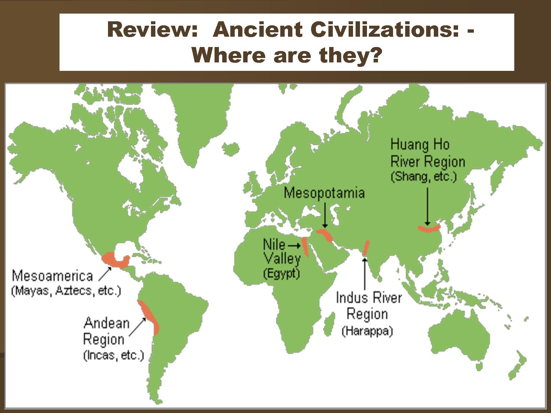 Period 1 Ancient Civilizations Visual Resources