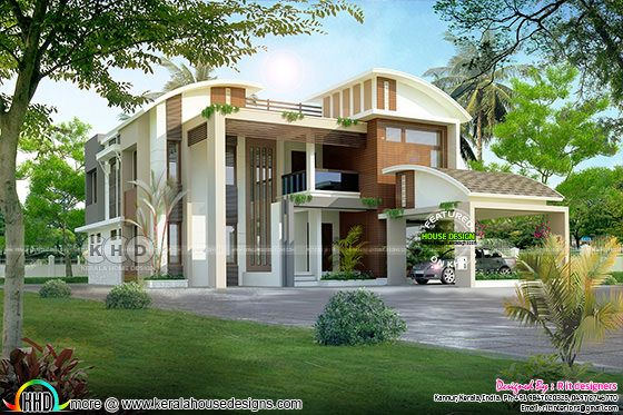 Contemporary ultra modern 5 bhk home
