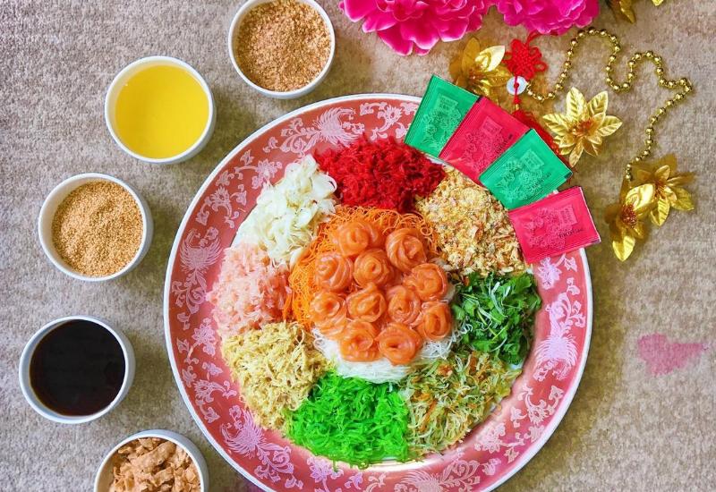 Halal Yee Sang In Kuala Lumpur