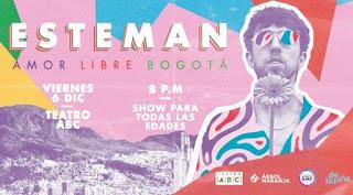 Concierto de ESTEMAN en Bogota 2019