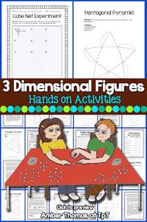 https://www.teacherspayteachers.com/Product/Geometry-Mini-Unit-3-Dimensional-Figures-111302