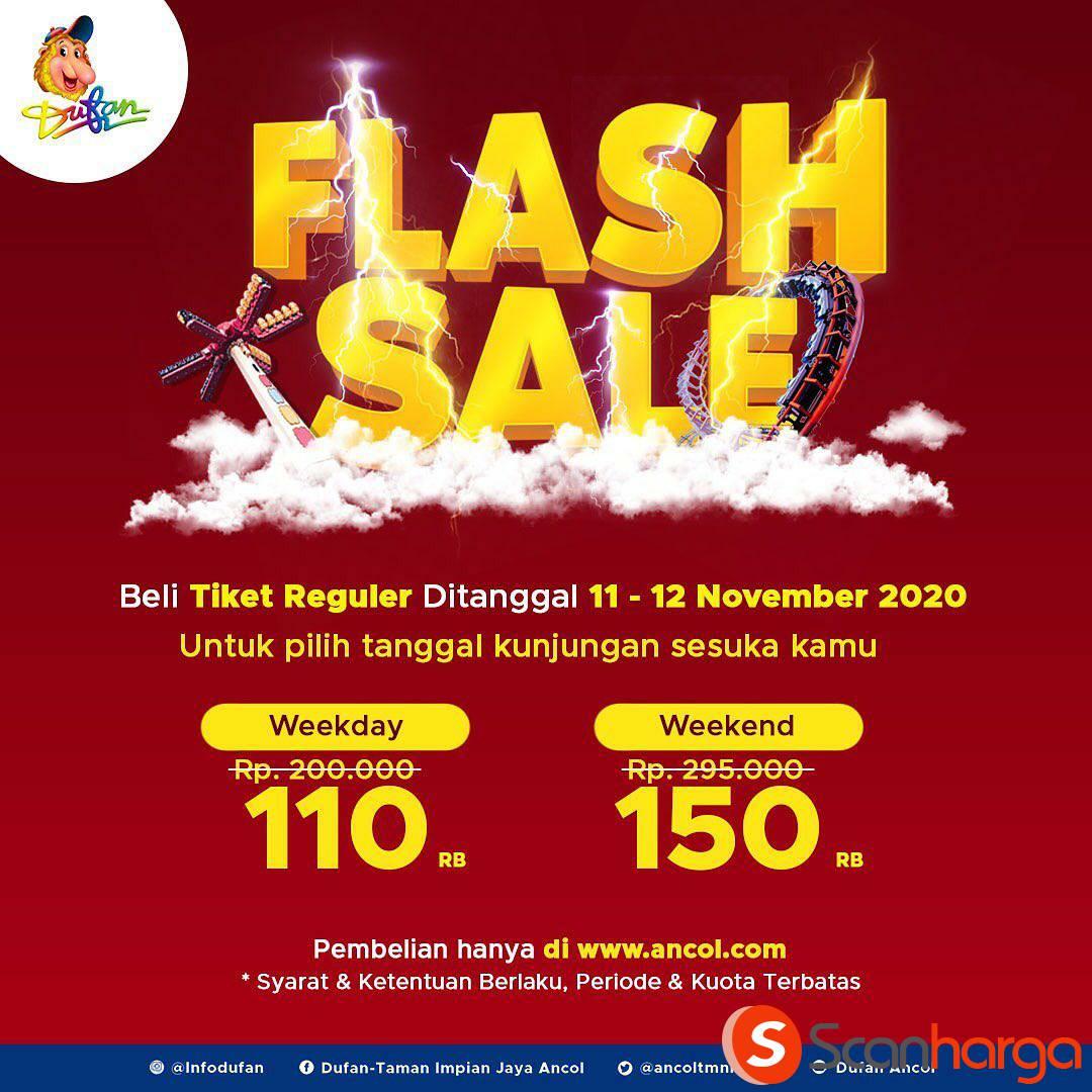 Dufan Flash Sale Beli Tiket Reguler harga mulai Rp 110.000 /orang