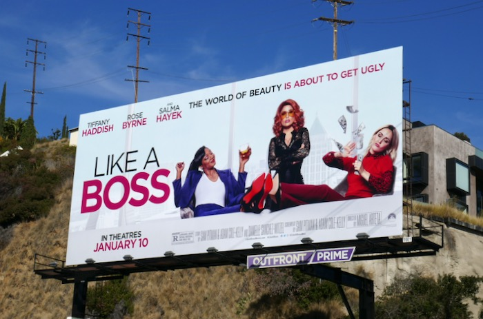 Like a Boss movie billboard