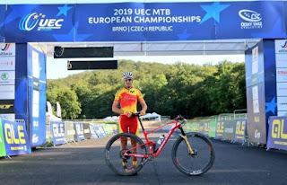 CICLISMO DE MONTAÑA - Campeonato de Europa 2019 (Brno, República Checa): Primer bronce de España en Eliminator, gracias a Magda Durán