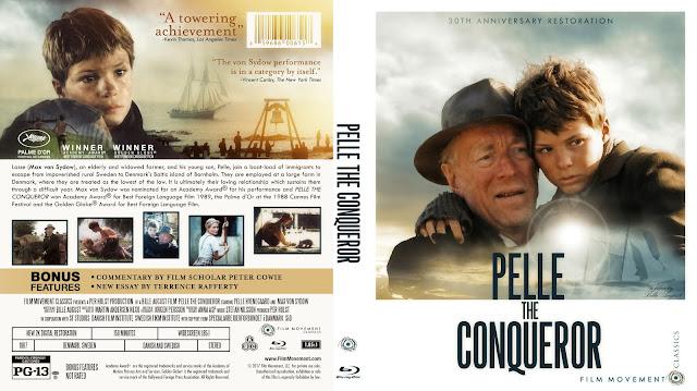 Pelle The Conqueror Bluray Cover
