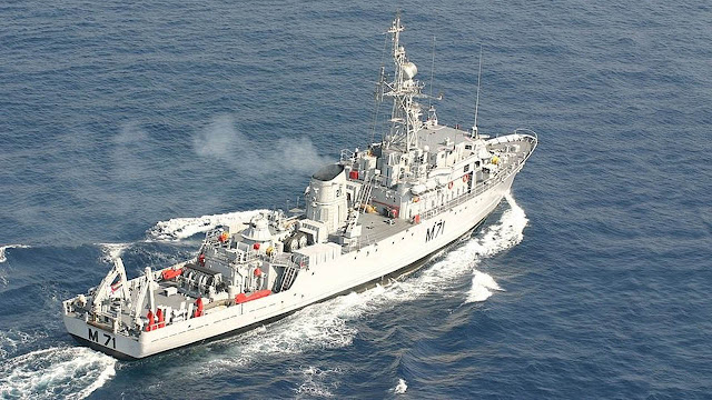 Pondicherry-Class Minesweeper - INS Kozhikode - M71 - Indian Navy - 01