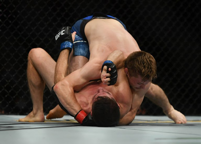 Bryce Mitchell Grappling Charles Rosa UFC 249