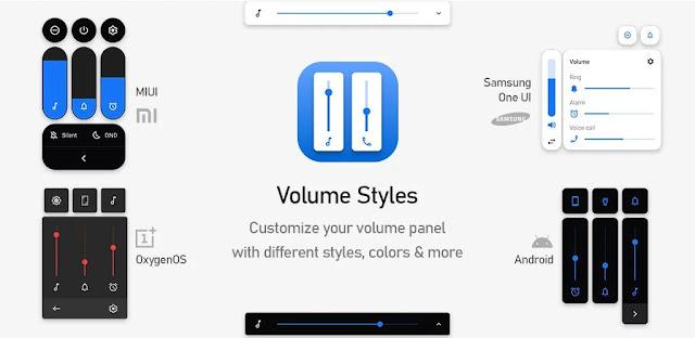 تنزيل أنماط الصوت - تخصيص Volume Panel - تطبيق تخصيص لوحة التحكم بحجم الصوت لنظام الاندرويد